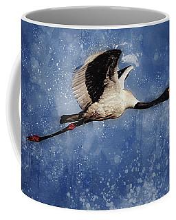 Saddle Billed Stork Coffee Mug