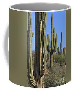 Saguaro Cactus In The Arizona Desert Coffee Mug