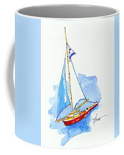 Sailing In Paris  Coffee Mug