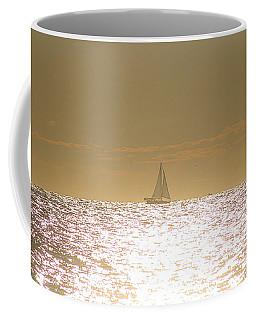 Coffee Mug featuring the photograph Sailing On Sunshine by Robert Banach