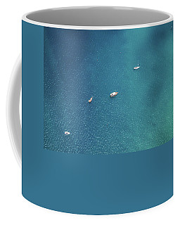 Sailing On The Blue Coffee Mug