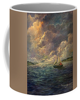 Sailing The Divine Light Coffee Mug