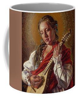 Saint Cecelia Mosaic Coffee Mug