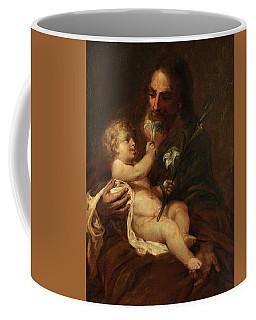 Saint Joseph With The Infant Saviour Coffee Mug