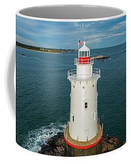 Coffee Mug featuring the photograph Sakonnet Light  by Michael Hughes