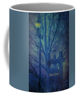 Coffee Mug featuring the photograph Salem Massachusetts  Witch House by Jeff Folger