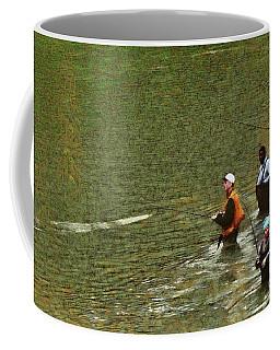 Salmon Fishing Nisqually River Coffee Mug