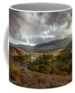 Salmon Valley Sun Coffee Mug