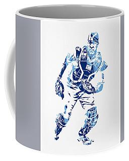 Salvador Perez Kansas City Royals Pixel Art 2 Coffee Mug