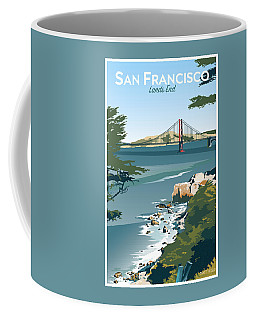 San Francisco Lands End Coffee Mug