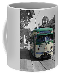 San Francisco - The E Line Car 1008 Coffee Mug