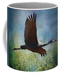 Sandhill Crane Art Coffee Mug