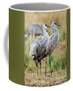 Sandhill Crane Pair Coffee Mug