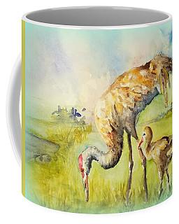 Sandhill Cranes At Myakka Coffee Mug
