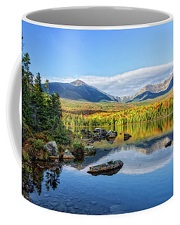Coffee Mug featuring the photograph Sandy Stream Pond Baxter Sp Maine by Michael Hubley