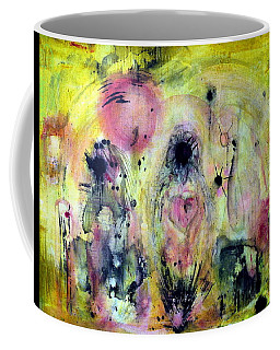Coffee Mug featuring the painting Sanguine by 'REA' Gallery