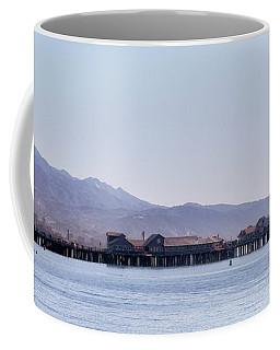 Santa Barbara Harbor Coffee Mug