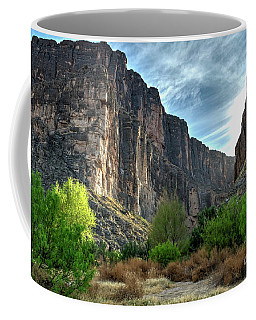 Santa Elena Canyon Coffee Mug