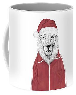Santa Lion  Coffee Mug