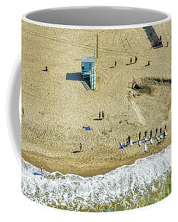 Santa Monica Beach 2 Coffee Mug