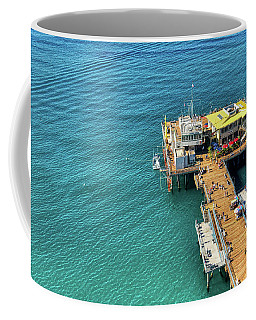 Santa Monica Harbour Coffee Mug