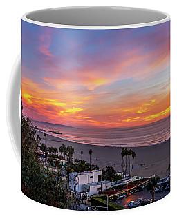 Santa Monica Pier Sunset - 11.1.18  Coffee Mug