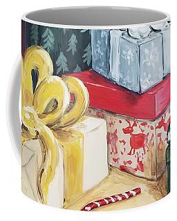Santa Was Here Coffee Mug