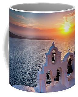 Santorini Sunset Coffee Mug