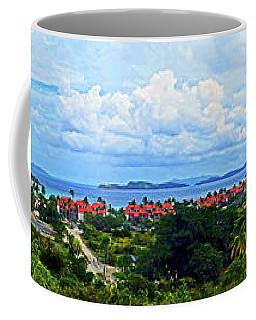 Sapphire Panorama Coffee Mug