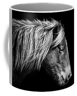 Sarah's Sweat Tea Portrait In Black And White Coffee Mug