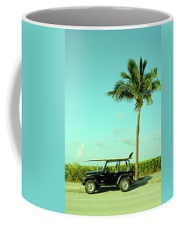 Saturday Surfer Jeep Coffee Mug