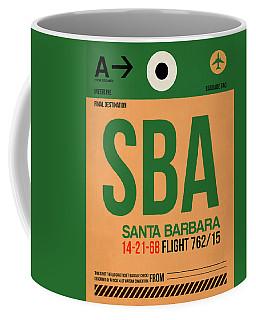 Sba Santa Barbara Luggage Tag I Coffee Mug