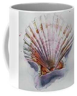 Scallop Seashell Coffee Mug