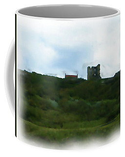 Scarborough Castle Painting Coffee Mug