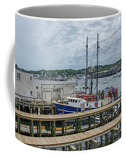 Scenic Harbor Coffee Mug