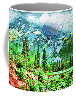 Scenic Mountain Lake Coffee Mug
