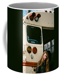 Coffee Mug featuring the photograph School's Out by Carl Young