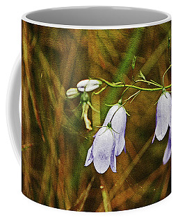 Scotland. Loch Rannoch. Harebells In The Grass. Coffee Mug