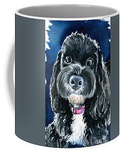Scout - Cavoodle Dog Painting Coffee Mug