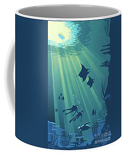 Scuba Dive Coffee Mug