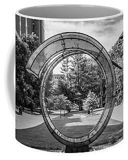 Sculture At University Of Michigan Coffee Mug