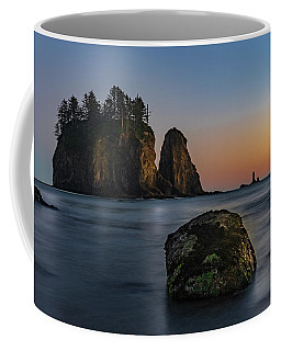 Coffee Mug featuring the photograph Sea Stacks At La Push by Ed Clark