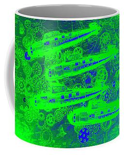 Sea Sub Sonar Coffee Mug