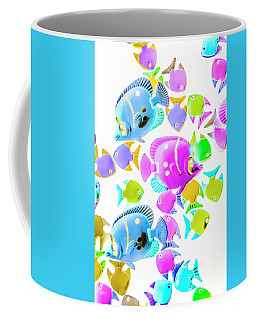 Sea Swimmers Coffee Mug