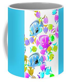 Sea Swimmers Coffee Mug