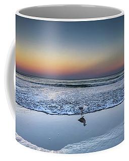 Seagull On The Beach Coffee Mug