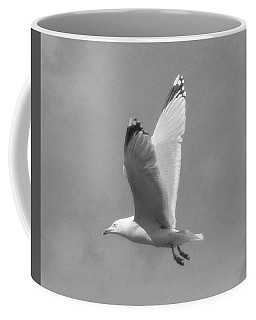 Seagull Over Llandudno Coffee Mug