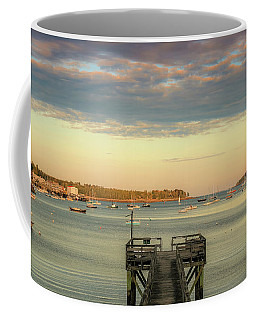 Coffee Mug featuring the photograph Seal Harbor At Low Tide by Dan Sproul