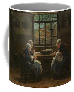 Seamstress, 1880 Coffee Mug