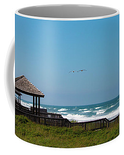 Coffee Mug featuring the photograph Seaside Gazebo by Lora J Wilson